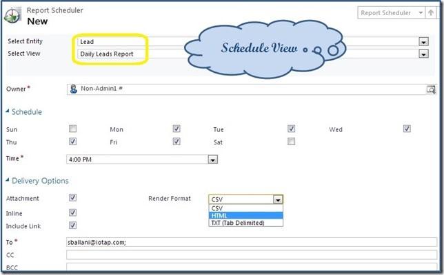 Report scheduler 2