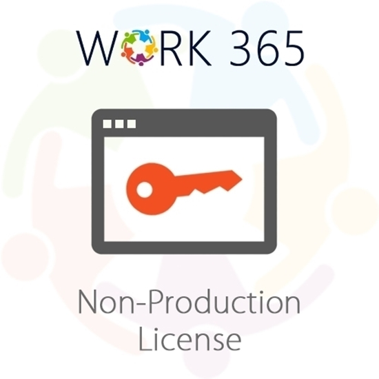work 365 non production license